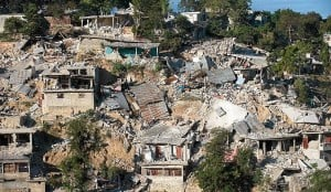 Jordskjelvet i Haiti.