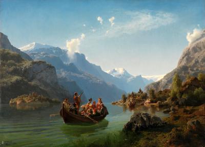 Dette bilde ses på som et ikon for norsk nasjonalromantikk