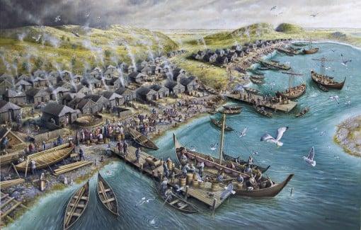 Vikingtiden.