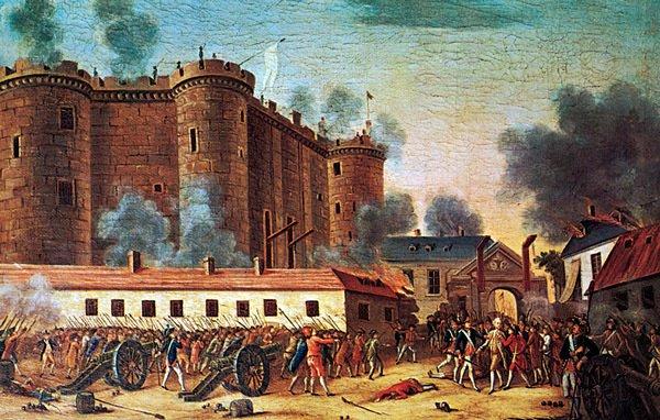 bastillen, den franske revolusjon