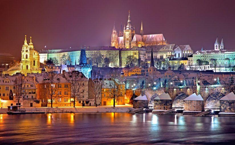 Studere i Praha